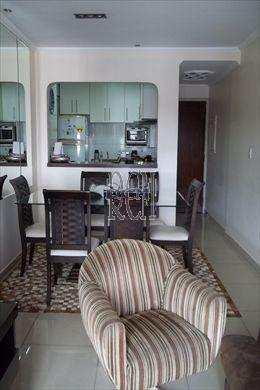 Apartamento, código 2725 em São Vicente, bairro Centro