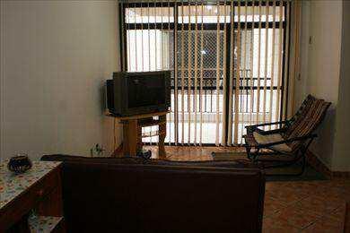 Apartamento, código 2684 em São Vicente, bairro Itararé