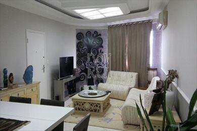 Apartamento, código 2677 em São Vicente, bairro Itararé