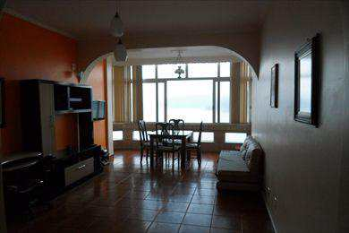 Apartamento, código 2673 em São Vicente, bairro Centro