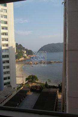 Apartamento, código 2674 em São Vicente, bairro Itararé