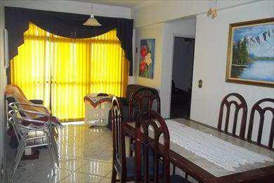 Apartamento, código 2665 em São Vicente, bairro Itararé