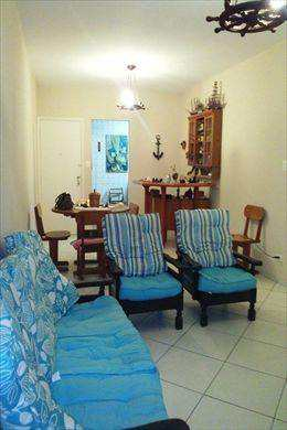 Apartamento, código 2678 em São Vicente, bairro Itararé