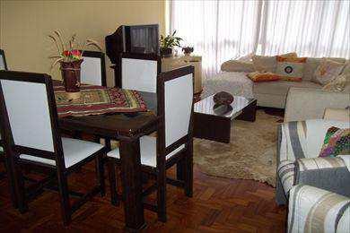 Apartamento, código 2562 em São Vicente, bairro Itararé