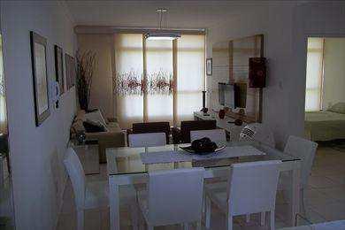 Apartamento, código 2557 em São Vicente, bairro Itararé