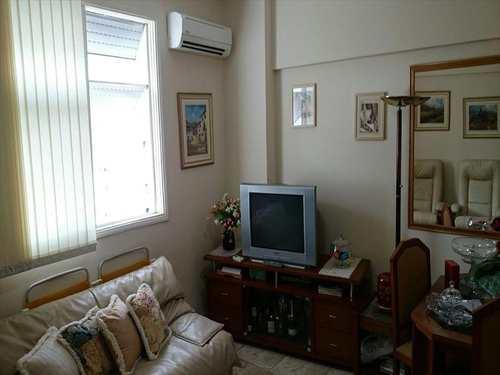 Apartamento, código 1708 em Santos, bairro Aparecida