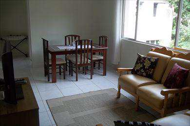 Apartamento, código 1572 em São Vicente, bairro Centro