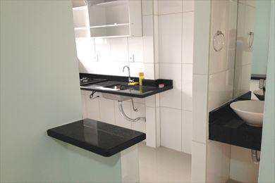 Sala Living, código 496 em São Vicente, bairro Gonzaguinha