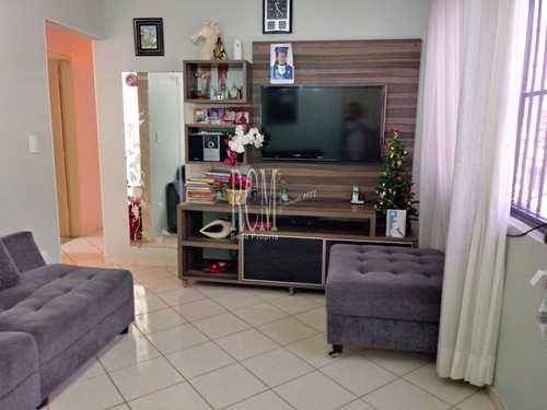Apartamento, código 91110 em São Vicente, bairro Vila Valença