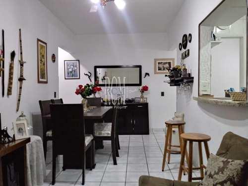 Apartamento, código 91121 em São Vicente, bairro Centro