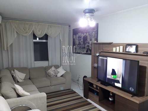 Apartamento, código 91125 em Santos, bairro Marapé