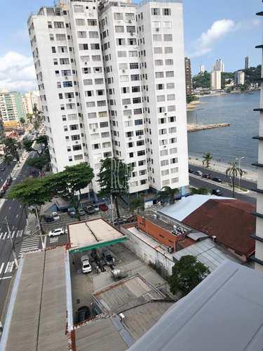 Apartamento, código 91129 em São Vicente, bairro Itararé