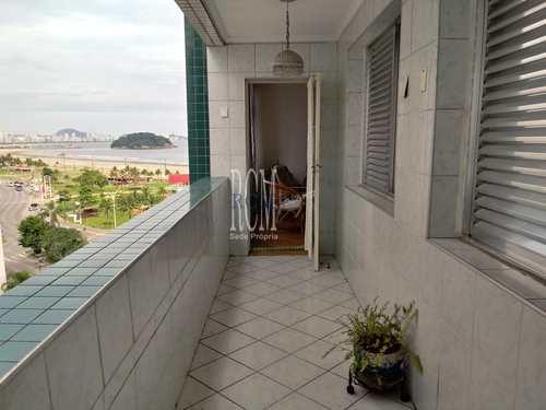 Apartamento, código 91166 em São Vicente, bairro Itararé