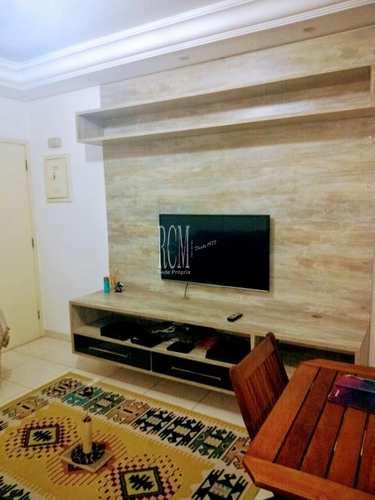 Apartamento, código 91193 em São Vicente, bairro Centro