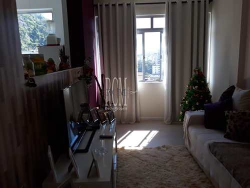 Apartamento, código 91195 em São Vicente, bairro Itararé