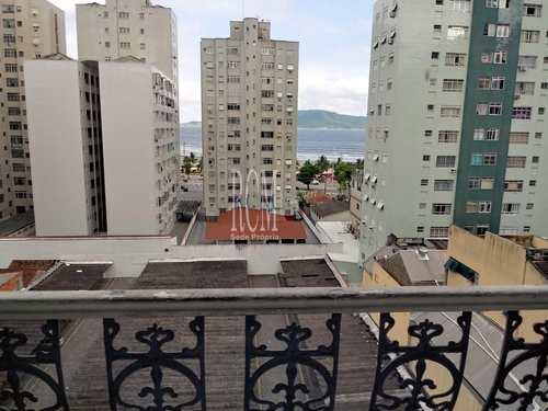 Apartamento, código 91207 em São Vicente, bairro Itararé