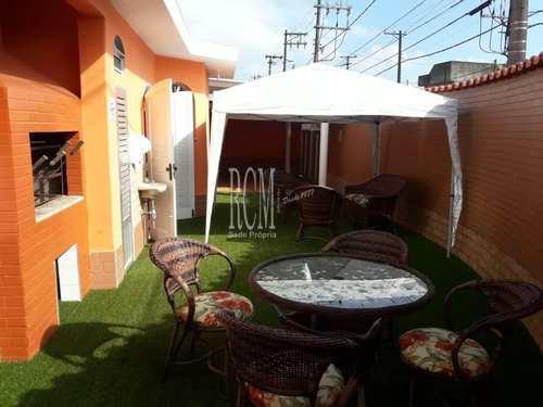 Casa, código 91306 em São Vicente, bairro Jardim Independência
