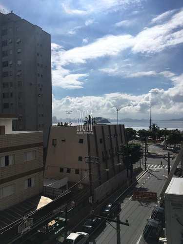 Apartamento, código 91312 em São Vicente, bairro Itararé