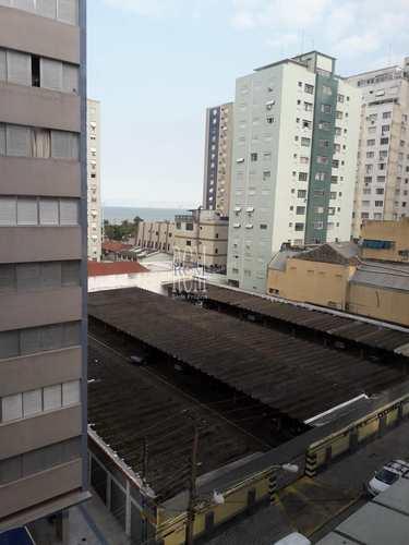Apartamento, código 91347 em São Vicente, bairro Itararé