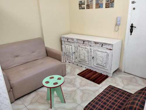 Apartamento, código 91357 em São Vicente, bairro Itararé