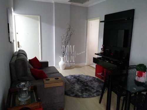 Apartamento, código 91382 em São Vicente, bairro Itararé