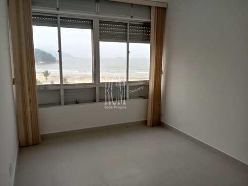 Apartamento, código 91450 em São Vicente, bairro Itararé