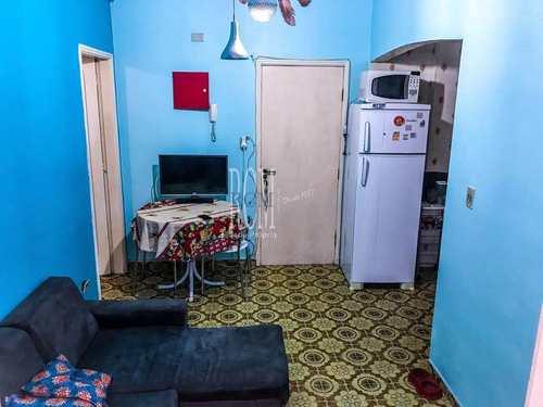 Apartamento, código 91490 em São Vicente, bairro Centro