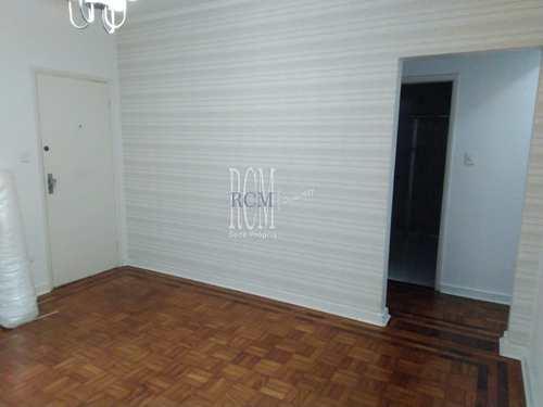 Apartamento, código 91525 em São Vicente, bairro Vila Valença