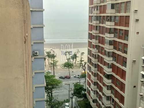 Apartamento, código 91557 em São Vicente, bairro Itararé