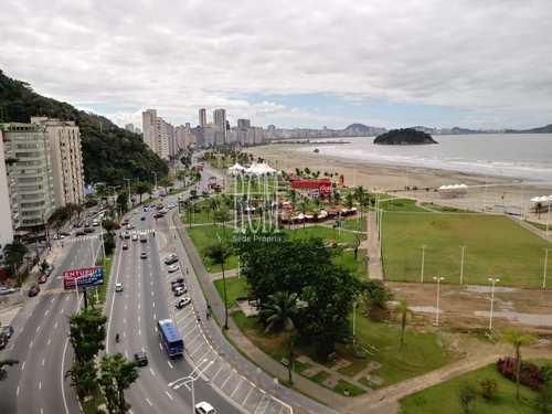 Apartamento, código 91570 em São Vicente, bairro Itararé