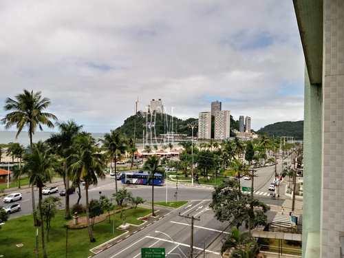Apartamento, código 91572 em São Vicente, bairro Itararé