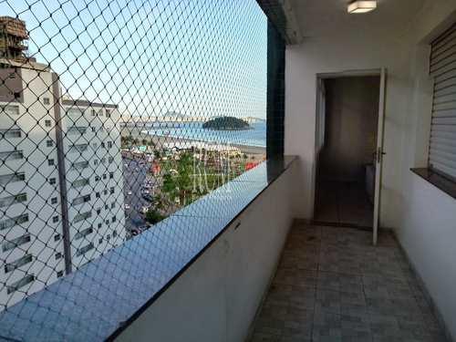 Apartamento, código 91629 em São Vicente, bairro Itararé