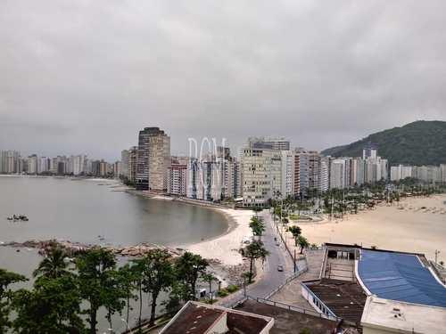 Apartamento, código 91637 em São Vicente, bairro Ilha Porchat