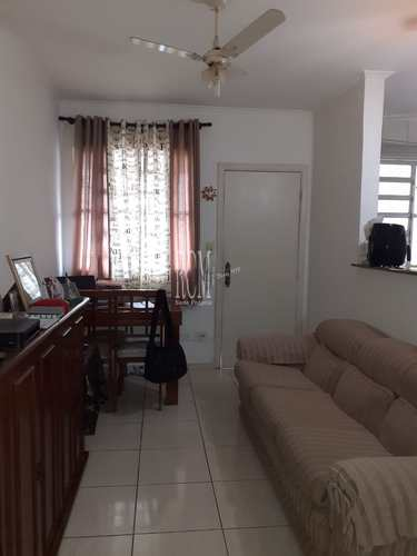 Apartamento, código 91656 em São Vicente, bairro Centro