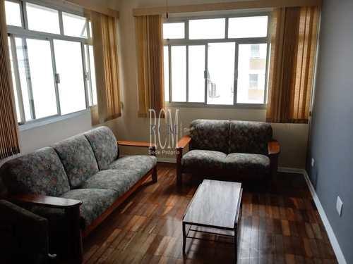 Apartamento, código 91664 em São Vicente, bairro Itararé