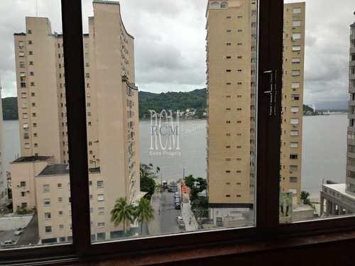 Apartamento, código 91733 em São Vicente, bairro Itararé