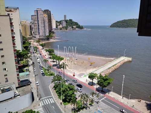 Apartamento, código 91752 em São Vicente, bairro Centro