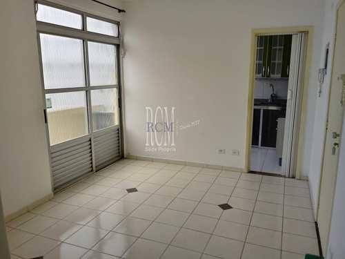 Apartamento, código 91789 em São Vicente, bairro Itararé