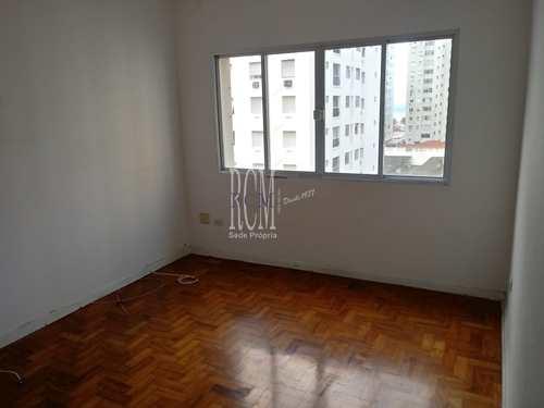 Apartamento, código 91815 em São Vicente, bairro Itararé