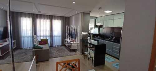 Apartamento, código 91888 em São Vicente, bairro Vila Valença