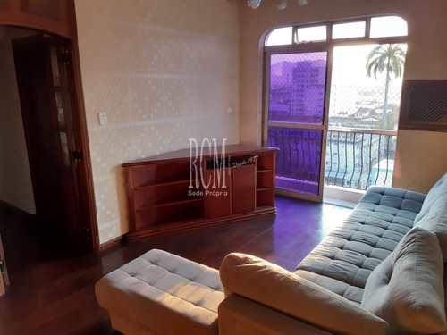 Apartamento, código 91935 em São Vicente, bairro Centro