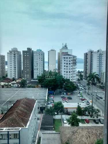 Apartamento, código 91945 em São Vicente, bairro Centro
