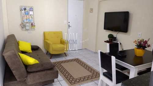 Apartamento, código 92079 em São Vicente, bairro Centro