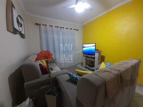 Apartamento, código 92081 em São Vicente, bairro Centro