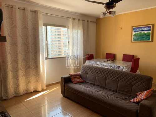 Apartamento, código 92102 em São Vicente, bairro Centro