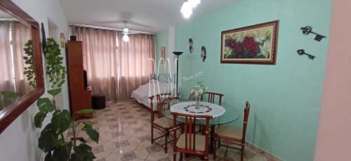 Apartamento, código 92185 em São Vicente, bairro Itararé