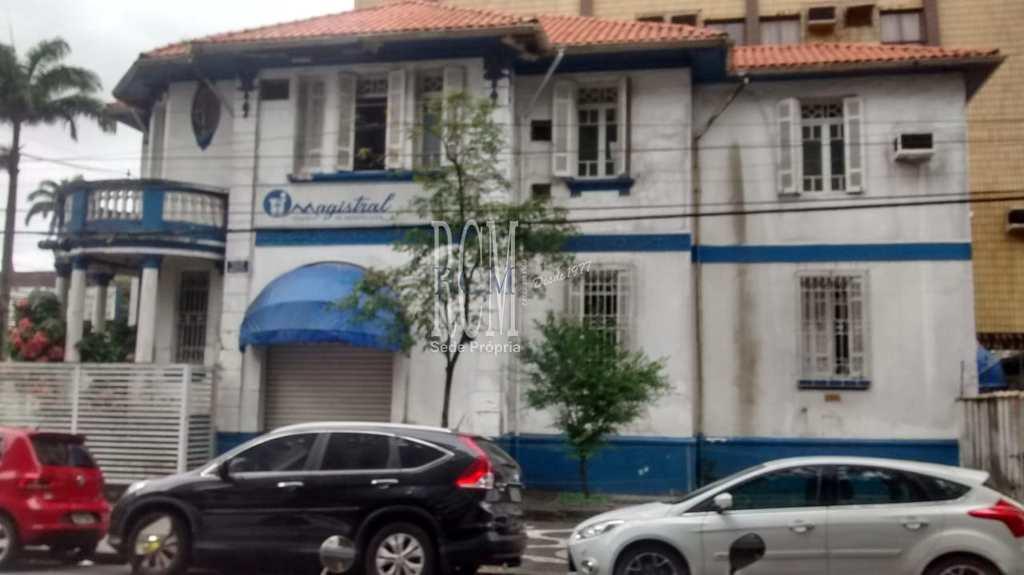Sobrado Comercial em Santos, no bairro Gonzaga