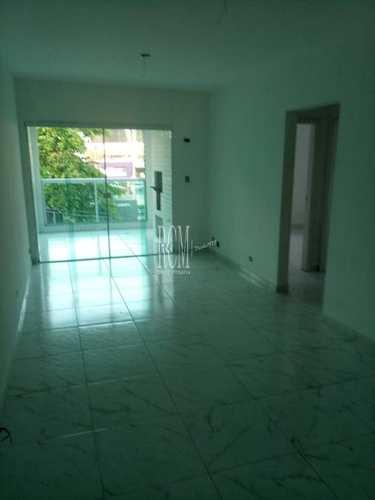 Apartamento, código 92377 em São Vicente, bairro Centro