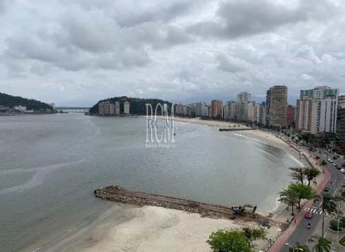 Apartamento, código 92390 em São Vicente, bairro Centro