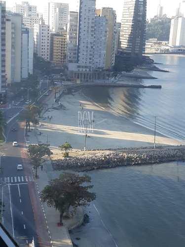 Apartamento, código 92449 em São Vicente, bairro Centro
